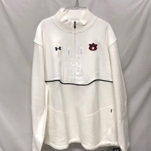 AUBURN UNDER ARMOUR 1/5 ZIP JACKET